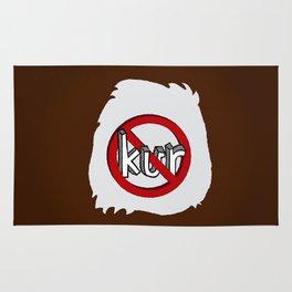 Dun Kur Bear [Don't Care Bear Brown/Grizzly] Rug