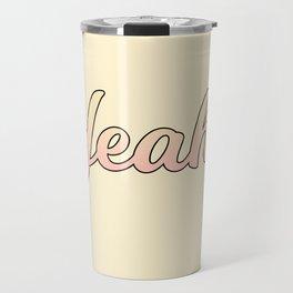 yeah! Travel Mug