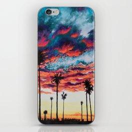 Tropical Sunset iPhone Skin