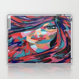 Psychedelic Jane Laptop & iPad Skin