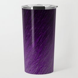 Funky Dark Purple Travel Mug
