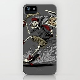 PARTY UNTIL DEATH iPhone Case
