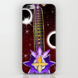 Fusion Keyblade Guitar #129 - Total Eclipse & Saix's Claymore iPhone Skin