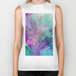 ALCOHOL INK Cvb Biker Tank