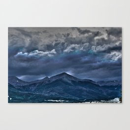 Storms a Commin' Canvas Print