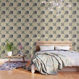 Simple Elephant Wallpaper
