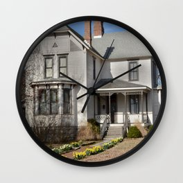 Cherokee Nation - The Historic Thompson House, built in 1882 Wall Clock