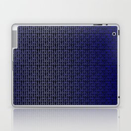 Binary Blue Laptop & iPad Skin