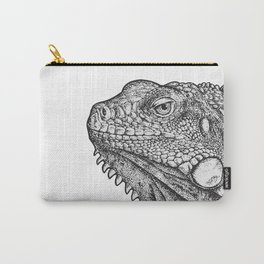 Iguana - Hand Drawn Carry-All Pouch