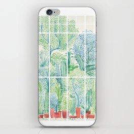 Winter in Glass Houses I iPhone Skin
