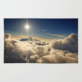 clouds (Above The Heavenly Clouds) Rug