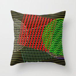 2406 Pattern evolution 4 Throw Pillow