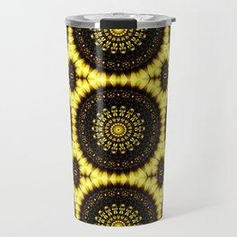 Sunflower Manipulation Grid 2 Travel Mug