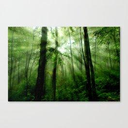 Joyful Forest Canvas Print