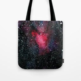 Red Cosmos Art Painting Tote Bag