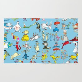 Dr. Seuss Characters Rug