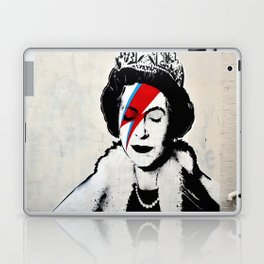 Banksy, Queen Laptop & iPad Skin