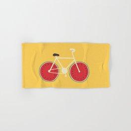 watermelon bike Hand & Bath Towel