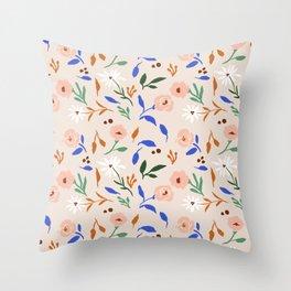 Tulum Floral Throw Pillow