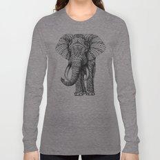Ornate Elephant Long Sleeve T-shirt
