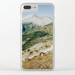 Mt St Helens Clear iPhone Case