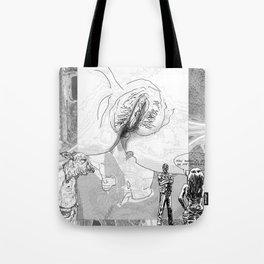 The constellation erotique 4494 Tote Bag