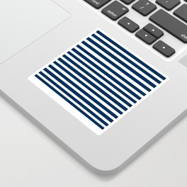 Navy-White ( Stripe Collection ) Sticker