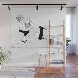 Two Sumos Wall Mural