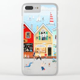The Singing Bakers Clear iPhone Case
