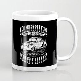 Hot Rod - Classick Kustomz (white) Coffee Mug