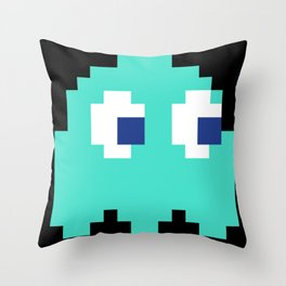 8-Bits & Pieces - Inky Throw Pillow