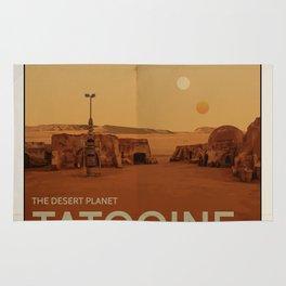 The Desert Planet of Tatooine Rug