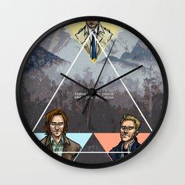 carry on my wayward son Wall Clock