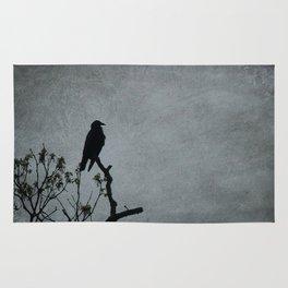 Majestic Crow Rug