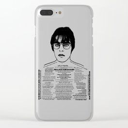Liam Gallagher - 'Brotherly Love' - Ink'd Series Clear iPhone Case