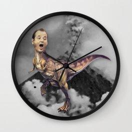 Bill Murray TRex Wall Clock