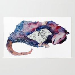 Exquisite Corpse: Possum  Rug