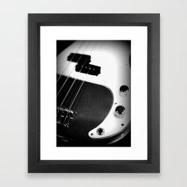 Bass Guitar - I Framed Art Print