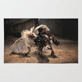 Cockfighting 4 Rug