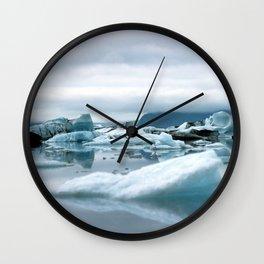 Ice Antartica Wall Clock