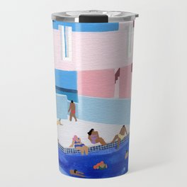Spain Pool Travel Mug