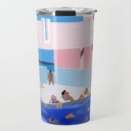 Spain Pool Travel Mug