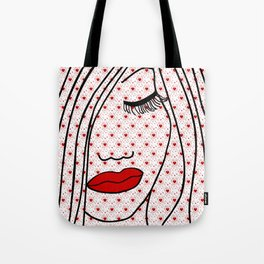 Portrait Of Love Tote Bag