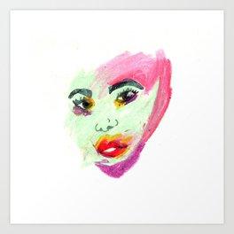 Femme Fatale Art Print