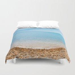 sea sand beach 4 Duvet Cover