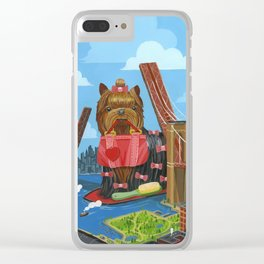 New Yorkie Clear iPhone Case