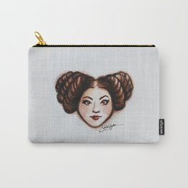 Leia Star Wars Heart Art Carry-All Pouch