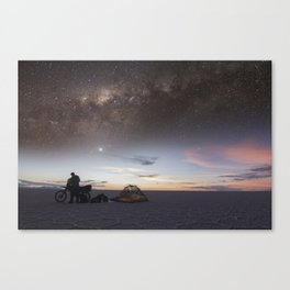I Found God Canvas Print
