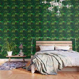 Garden Greens Wallpaper