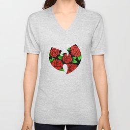 Roses Wutang Unisex V-Neck
